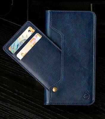 2 in 1 Genuine Musubo for iPhone 11 Wallet Case PU Leather Luxury Flip Cover