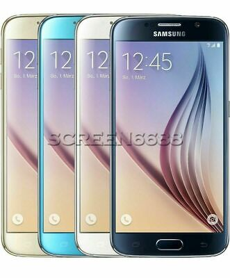 Samsung Galaxy S6 SM-G920F 32GB Unlocked Android Smartphone All Colors Excellent
