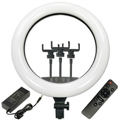 "6"" LED Studio Ring Light Dimmable Lighting Kit Phone Selfie 1.6m Tripod"