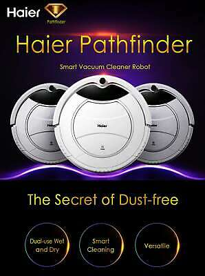 Haier SWR Pathfinder Vacuum Cleaner Robot Sweeper White swr-t320