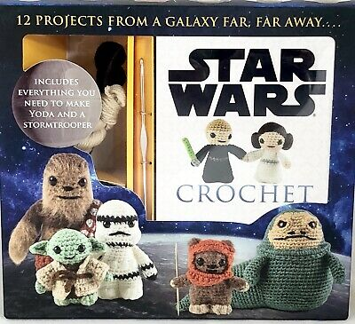 Star Wars Crochet Kit 12 Patterns Thunder Bay Press Lucy Collin New