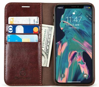 Genuine Musubo for iPhone 11 Wallet Case Card Slot PU Leather Flip Phone Cover