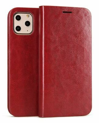 Genuine Musubo Cover for iPhone 11 Pro Wallet Case Card Slot PU Leather Flip