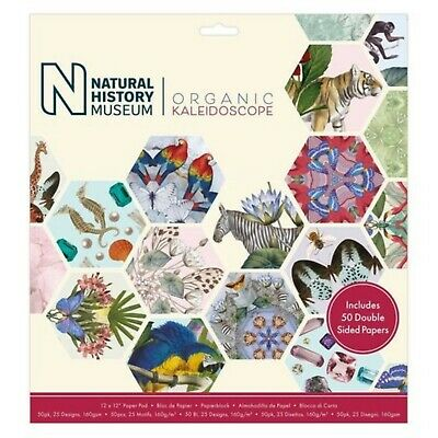 Natural History Museum Craft Paper Pad Collection