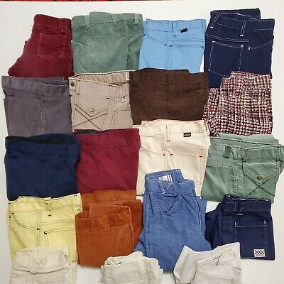 Lot Of 19 - 1970S BOYS YOUTH PANTS SHORTS VINTAGE USA BILLY THE KID FARAH