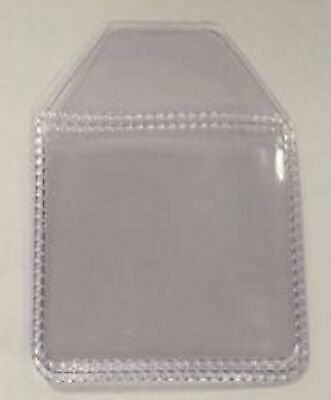 Pack of 10 plastic coin wallets storage envelope 35 x 35 mm