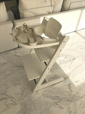 stokke tripp trapp evolutive high chair with accessories