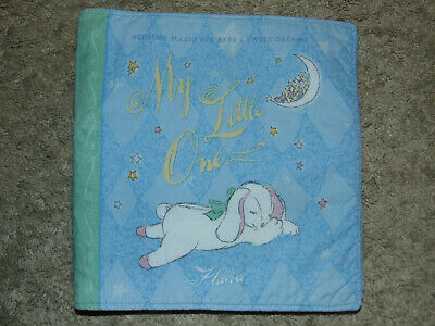 My Little One Cloth Fabric Baby Book Flavia Bedtime Magic Sweet Dreams soft 10pg