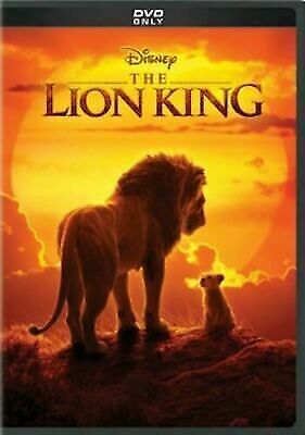 The Lion King (1 DVD, 2019) Live Action, DVD Brand New Factory Sealed