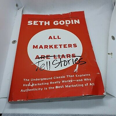 All Marketers are Liars by Seth Godin 9781591845331 | Brand New