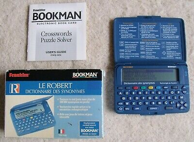 Franklin Bookman TFR-440 Electronic French Dictionary And Thesaurus