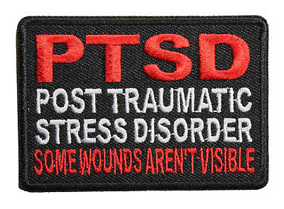 Some Wounds Are Not Visible By Ivamis Trading 3x2 inch P3141 PTSD