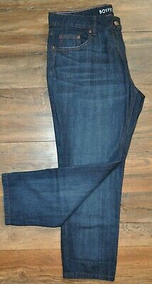 NEXT Ladies BOYFIT JEANS Denim Trousers Size UK 16 100% Cotton