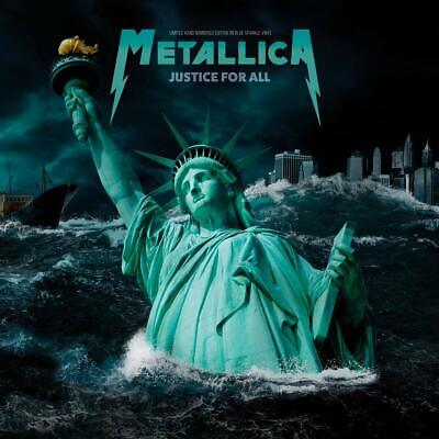 Metallica - Justice For All: Limited Edition On Blue Sparkle Vinyl