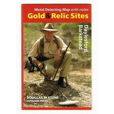 VIC - Gold & Relic Sites - Metal Detecting Maps - Region: Daylesford-Barkstea...