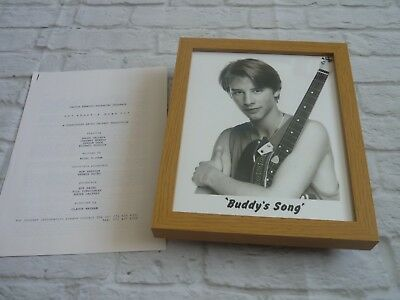 Framed Lobby card Press kit & Promo Photo Buddys song Chesney hawkes as buddy