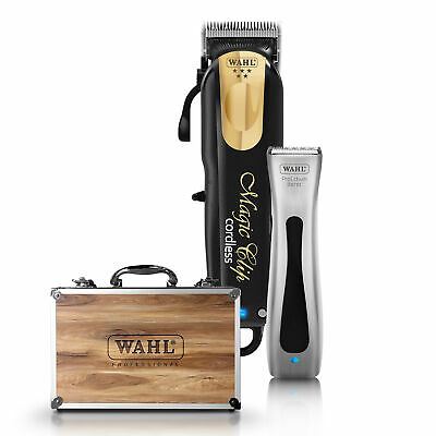 Wahl Magic Clip Black&gold Cordless Professional Hair Clipper and Beret Trimmer