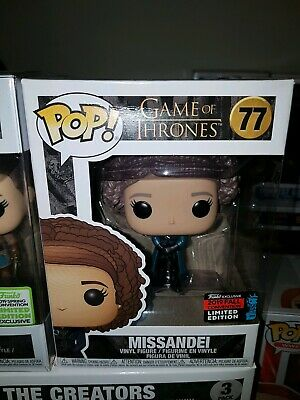 Funko Pop Game of Thrones #77 Missandei 2019 Convention Exclusive