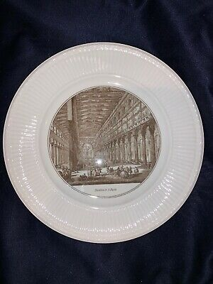 Set Of 6 1962 Wedgwood PIRANESI Edme Scenes Rome Dinner Plates Barlaston England
