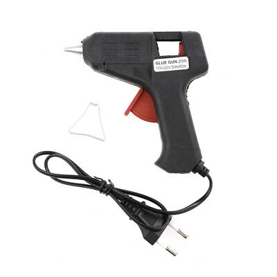 20W Pro Hot Melt Glue Gun Heater Trigger Electric Heating Repair Tool NuovoW