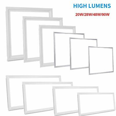 20W 48W 90W Ceiling Suspended Recessed LED Panel White Light Office Lighting
