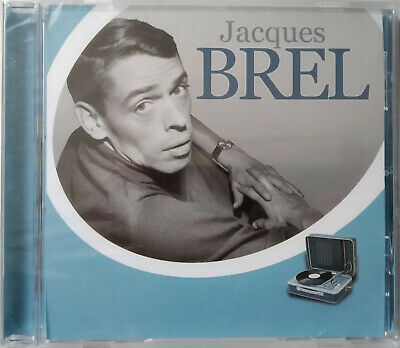 CD JACQUES BREL neuf sous blister