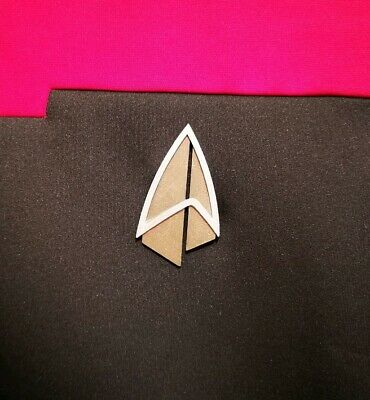 Star Trek Picard Magnetic Combadge For Costume or Cosplay