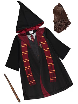 Harry Potter Hermione Granger Fancy Dress Costume 5-12 Years Christmas Outfit
