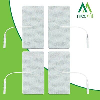 Med-Fit Tens Pads Electrodes 4 (1 Pack) self adhesive Electrodes 5x10cm