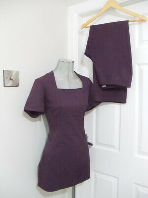 Tunic & trousers Uniform La Beeby suitable for make up artist size 10