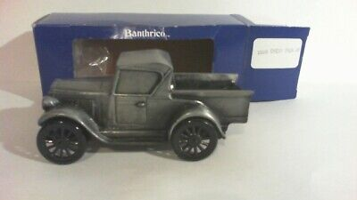 VTG 1985 Bank By Banthrico, Old 1928 Chevy Pick Up Truck