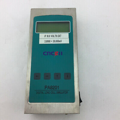 AMALGAMATED INSTRUMENT PA8201 CNCell DIGITAL LOAD CELL SIMULATOR