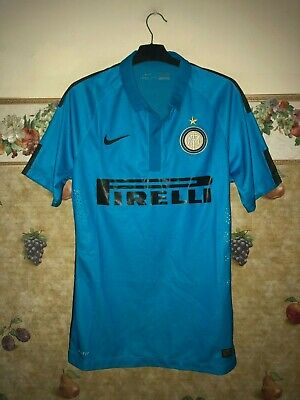 Inter Milan Third 2014-15 player issue shirt jersey maglia authentic RARE