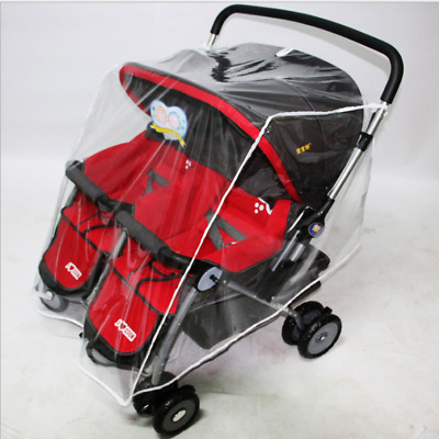 Playshoes Rain Cover for Pushchairs Transparent