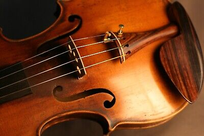 A Fine Old Antique French Violin By Jtl After Guadagnini Ca 1900, Listen & Watch