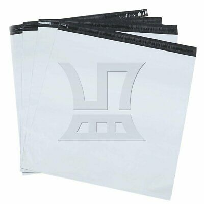 20pcs 60x80cm White Poly Mailers Envelopes Self Sealing Plastic Mailing Bags