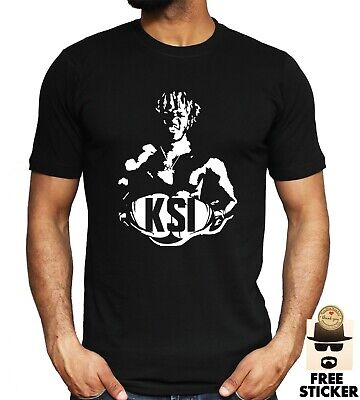 KSI Inspired T shirt YouTube Boxing Champion Mens Kids Gaming Game Gift Tee Top