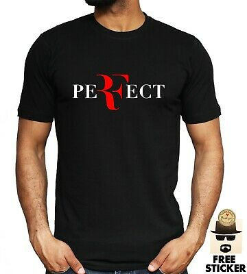 ROGER FEDERER Perfect T shirt Tennis Player Legend Sport Mens Unisex Tee S - 3XL
