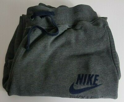 Nike Track And Field Mens Track Tracksuit Sweat Pants Medium M Grey Trackies