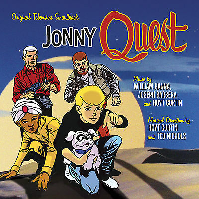 JONNY QUEST Hoyt Curtin 2-CD Set SOUNDTRACK Score LA-LA LAND Hanna-Barbera NEW!