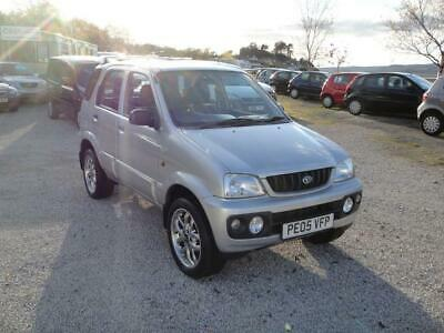 2005 Daihatsu Terios 1.3 Sport 4WD. Only 81,000 miles with service history.