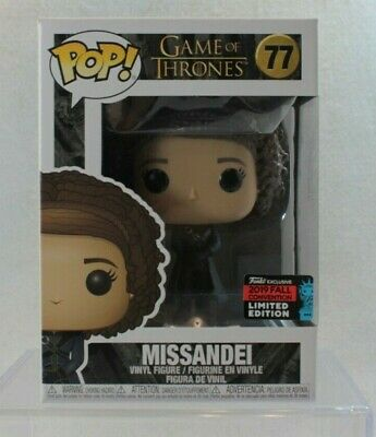 Funko Pop NYCC Exclusive MISSANDEI GOT Game Thrones Vinyl Figure 77