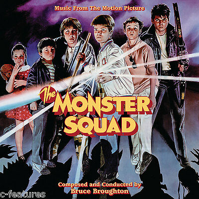 MONSTER SQUAD Bruce Broughton SOUNDTRACK CD Score LA-LA LAND Ltd Edition NEW!