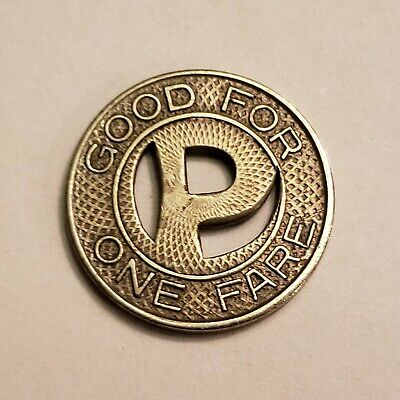 Phoenix Street Railway Token, More than 70 Years Old! A Great Piece of History!