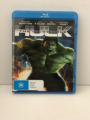 The Incredible Hulk (Blu-ray, 2009) Aus Seller Fast & Free Shipping VGC