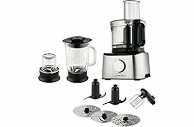 Kenwood FDM302SS Multipro Compact Food Processor, 2.1 Litre, 800 W, 2.1 liters,