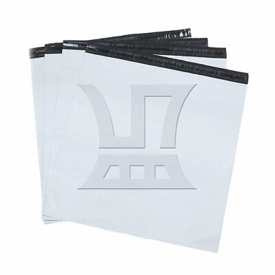 20pcs 48x65cm White Poly Mailers Envelopes Self Sealing Plastic Mailing Bags