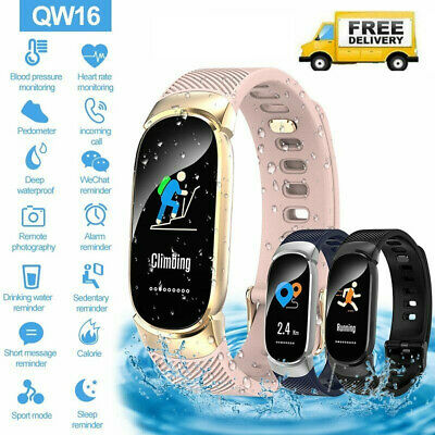Fitness Smart Watch Activity Tracker Women for Android iOS Heart Rate Monitor A+