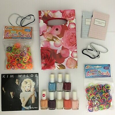 12 Girls Pamper Birthday Party Pre-filled Gift Bags Slumber Sleepover Nail Loot