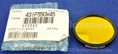 Olympus IF550 Interference Green Filter 45mm for Microscope